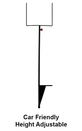 Tele-Stake used with 4-mil Cor-x Sign